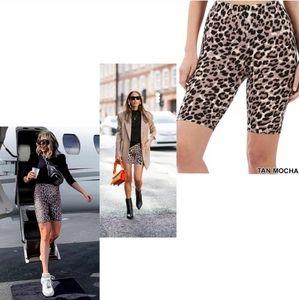 🖤 Leopard Biker Shorts 🖤